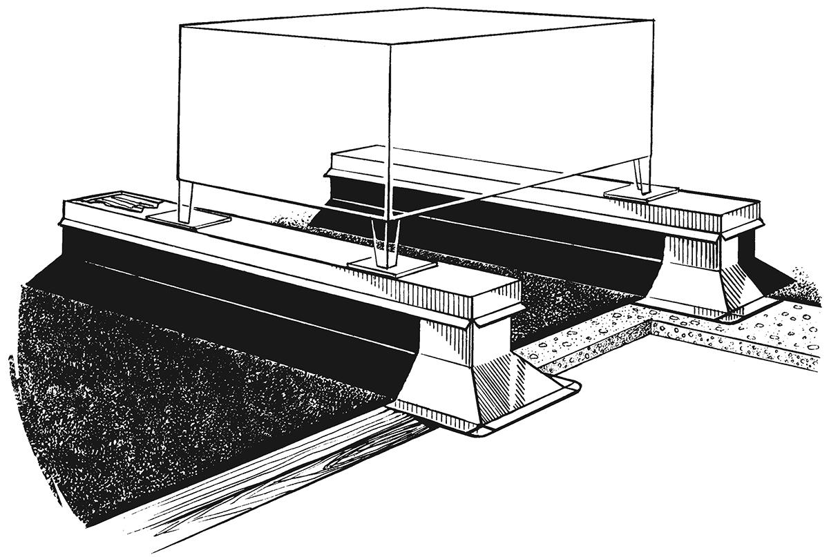 Er 3a Er 3b Equipment Rails For Uninsulated Decks Rps